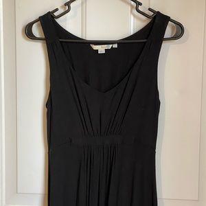 Boden black maxi dress